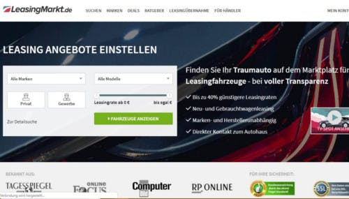LeasingMarkt.de-Startseite