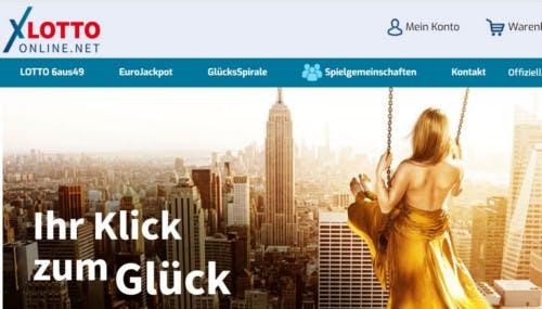lotto-online.net-Startseite