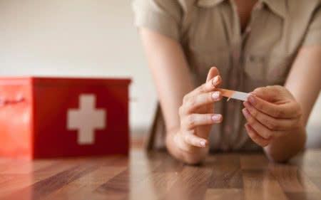 Mit dem medpex-Gutschein sparst du beim Kauf von Pflaster, Verbandsmaterial und Co.
