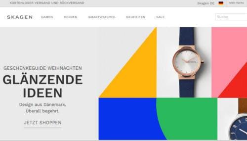 Skagen-Startseite