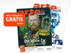 GRATIS Zeitschrift Arte Magazin