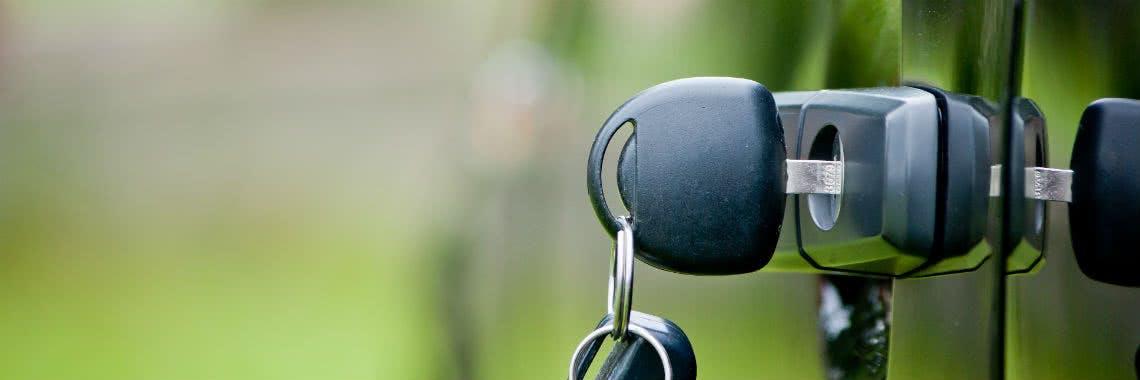Schlüssel für das neue Leasingauto