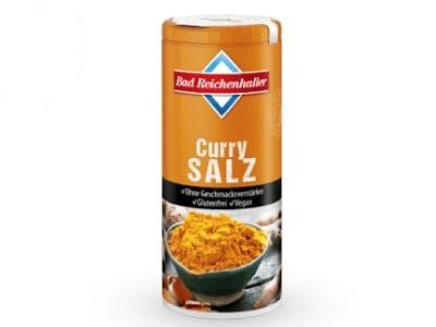 Geld-zurück-Aktion Curry-Salz von Bad Reichenhaller