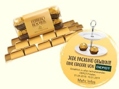 Etagere-Aktion von Ferrero Rocher