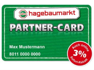 hagebau Partner-Card