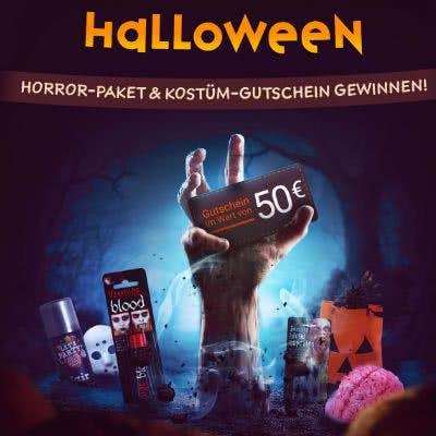 Halloween-Facebook-Gewinnspiel