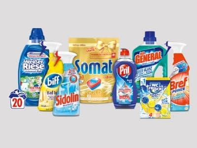 Geld-zurück-Aktion Henkel-Produkte