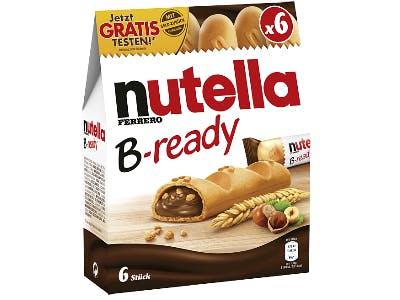 Geld-zurück-Aktion Nutella B-ready