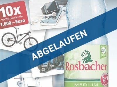 Gewinnspiel Rosbacher