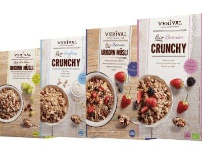 Geld-zurück-Aktion VERIVAL Müsli und Porridge