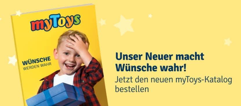 Der myToys Katalog mit einer tollen Auswahl an Spielsachen & mehr