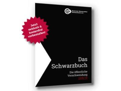"""Steuerverschwendung: Das """"Schwarzbuch 2018/19"""" kostenlos"""