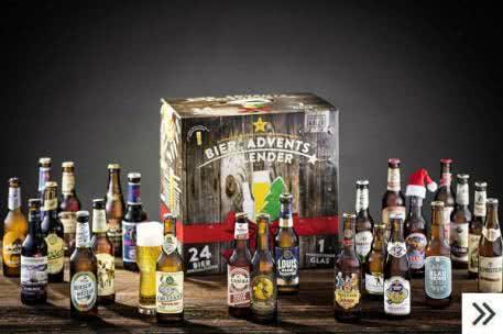Adventskalender für Erwachsene: 24 ganz besondere Biersorten