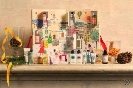 Adventskalender für Erwachsene: mit Kosmetika von L'Occitane