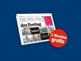 GRATIS Zeitschrift Der Freitag