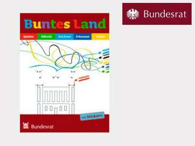 """Heft """"Buntes Land"""" vom Deutschen Bundesrat jetzt bestellen"""