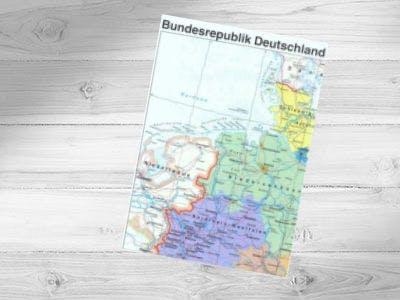 Gratis Deutschlandkarte jetzt bestellen
