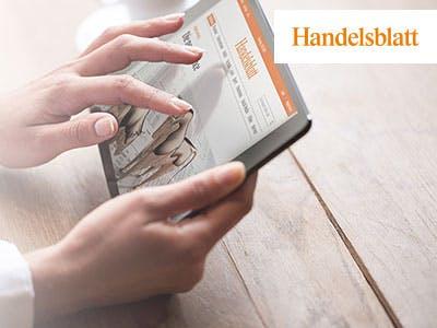 """""""Handelsblatt"""" Digitalpass für 6 Wochen kostenlos"""