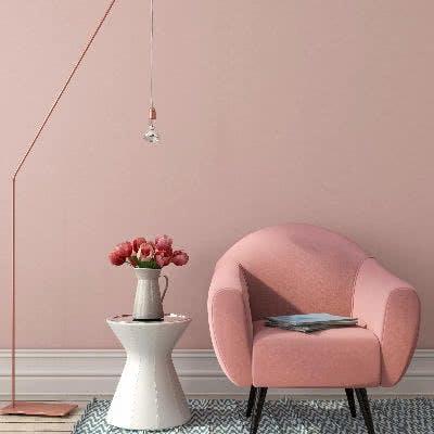 Rosé und Kupfer kombiniert