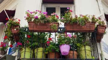 Kleiner Balkon
