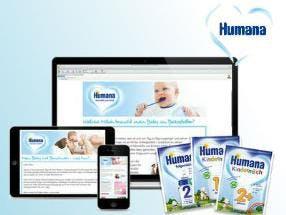 Gratis Babypaket Humana