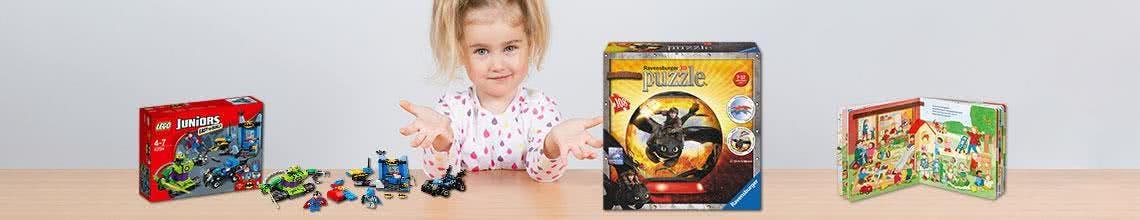 Sinnvolles Spielzeug für Kinder von 3 bis 4 Jahren