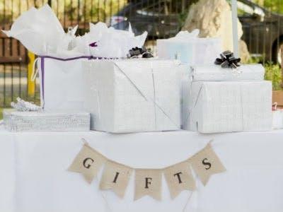 Sachgeschenke zur Hochzeit