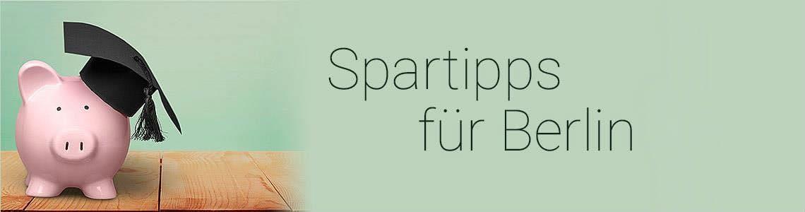 Spartipps für Studenten in Berlin
