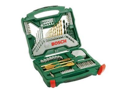 Nur 18,69€: Bosch 70tlg. X-Line Titanium-Bohrer- und Schrauber-Set