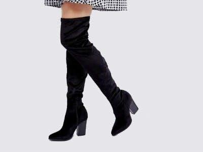Overknee-Stiefel ab 19,99€ bei ASOS