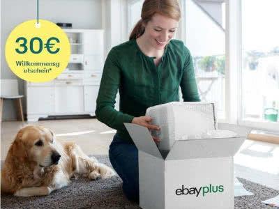 30€ Willkommensgutschein für eBay Plus-Mitgliedschaft