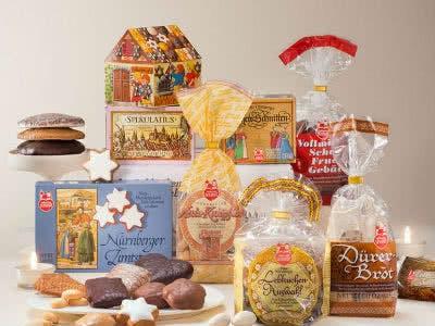 Lebkuchen Begrüßungspäckchen mit vielen Leckereien für nur 15€