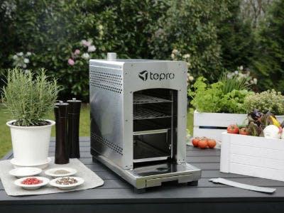 Tepro Toronto Holzkohlegrill Saturn : Tepro holzkohlengrill wichita schwarz amazon garten