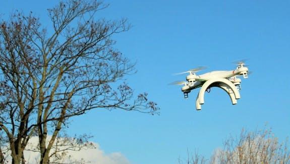 Drohnen erobern die Lüfte