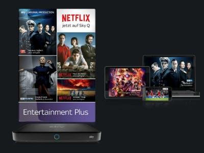 Serien auf Sky und Netflix dauerhaft für 19,99€/Monat