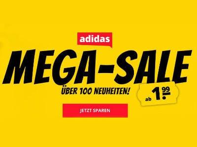 Adidas Artikel ab 1,99€ bei SportSpar