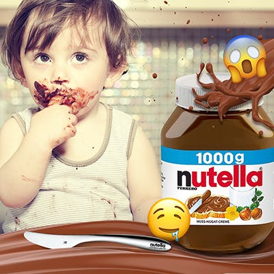 Facebook-Gewinnspiel: Nutella-Sets