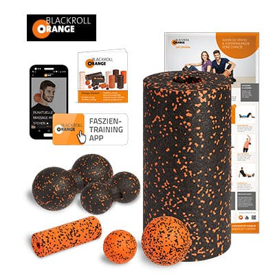 Facebook Gewinnspiel Blackroll-Orange-Sets
