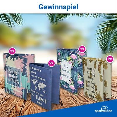 Instagram-Gewinnspiel: Reisepass-Hüllen