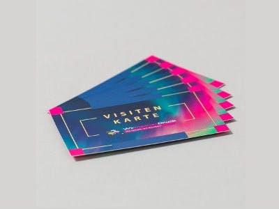 Bis zu 200 kostenlose Visitenkarten bei WIRmachenDRUCK