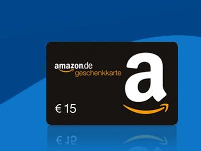 15€ Amazon.de--Gutschein als Dankeschön zur SPARWELT-Aktion.