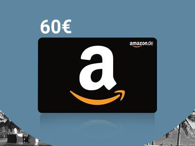 Amazon.de--Gutschein als Dankeschön zur SPARWELT-Aktion.