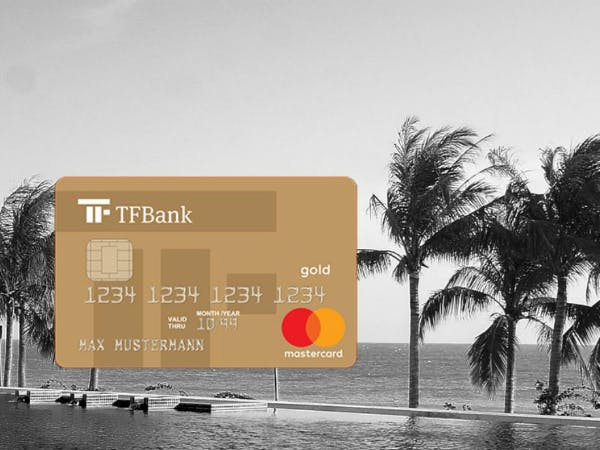 Jetzt TF MasterCard Gold holen und Bonus sichern.
