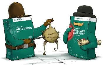 Wirkungsvolle Viren-Software von Kaspersky
