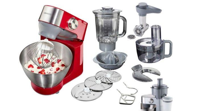 Die Kenwood Küchemaschine - ordentlich sparen