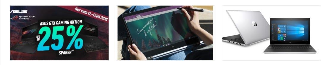 Laptops gut und günstig shoppen bei notebooksbilliger