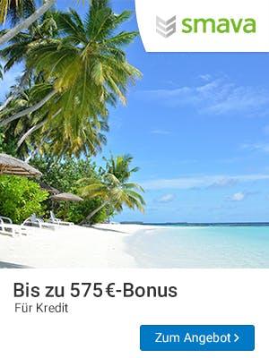 Smava Kredit abschließen und bis zu 575€-Amazon.de-Gutschein sichern.