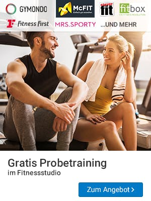 Welches Fitnessstudio passt zu euch? Findet es beim Probetraining raus.