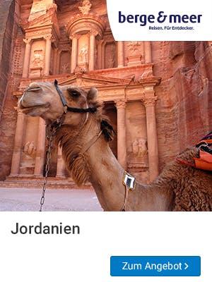 Frühbucher Urlaub 2019 wird in Jordanien gemacht!