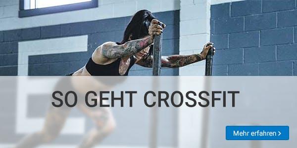 Mit CrossFit fit werden.